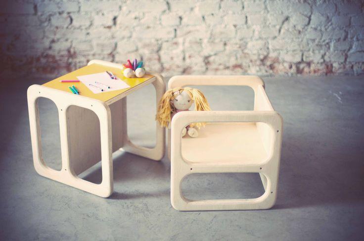 Cadeira cubo da Cuchi