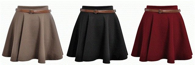 glipho - TUTORIAL: How to make a Skater Skirt!