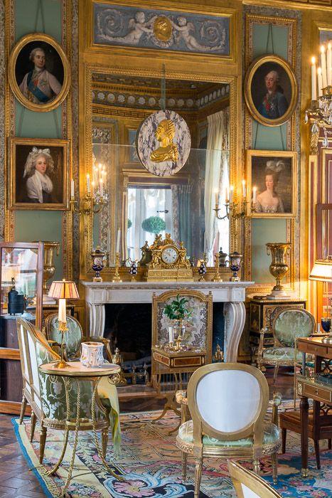 Chateau du Champs de Bataille, décoré par Jacques Garcia. Les jardins ont été…