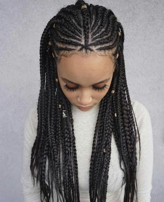 Top 25 All Over Braided Hairstyles For Black American Woman Best