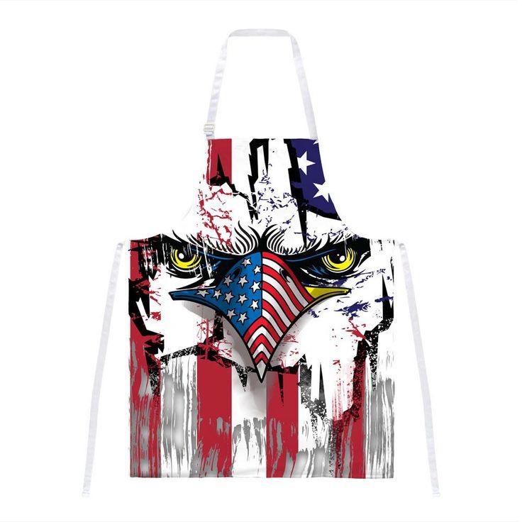 Patriot Eagle All Over Apron