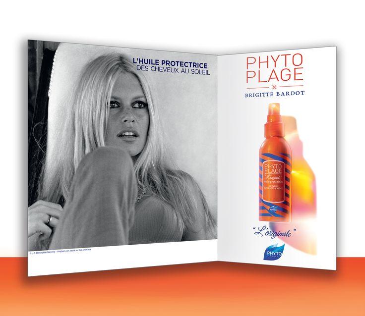 H Brigitte Bardot η νέα Παριζιάνα Μούσα της PHYTO Paris και τη σειρά PhytoPlage για το Καλοκαίρι 2015