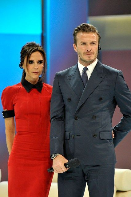 The couple that appears to have it all. Healthy gorgeous children. Chemistry together. They both strive to be the best at why they choose to do. Continue to carry on Mr. and Mrs. Beckham.
