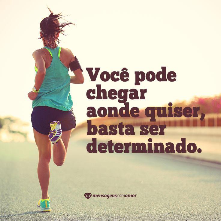 Não desista dos seus sonhos. Tenha coragem, lute e espere. Se você se esforçou, uma hora a vitória chegará.