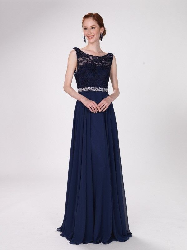 41c5e72cc0af0 NEW WOMENS Formal Beaded MOTHER OF THE BRIDE Long Evening Dress Gown XS-3XL  NAVY#MOTHER#BRIDE#Long
