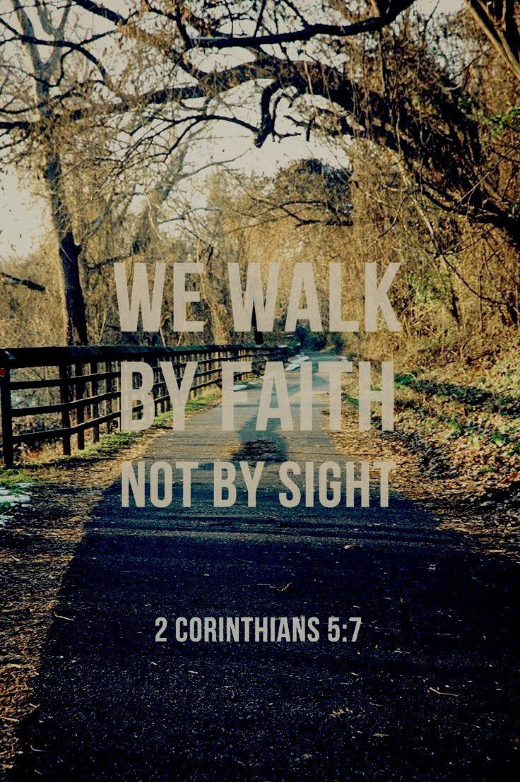 Free Desktop Wallpaper Scripture Fall Inspiring By Faith Not By Sight Yes Pinterest Bible Verses