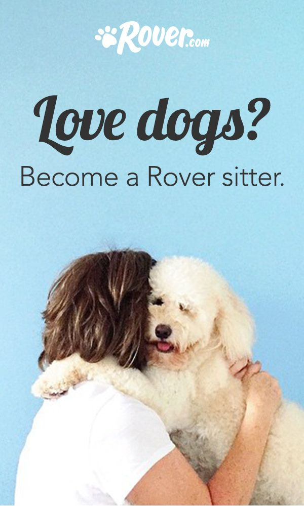 Did you know you can actually get paid to snuggle dogs? Try Rover.com—you'll be connected with the nation's largest network of pet owners and could earn up to $3,000 a month offering dog boarding. You'll set your own schedule and rates, plus work from the comfort of your own home. What's not to love?