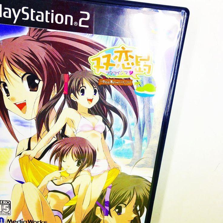 入荷案内です。PS2ソフトです。「双恋島〜恋と水着のサバイバル〜」が入りました。PS2のコーナーにあります。 #テレビゲーム #videogames #videogame #プレイステーション #playstation #双恋島 #札幌 #sapporo #北海道 #hokkaido http://xboxpsp.com/ipost/1491974631426134832/?code=BS0jwXADJMw