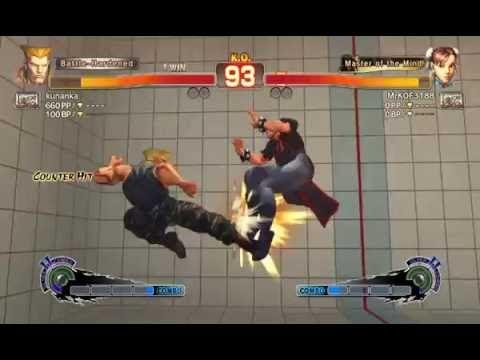 My Chun-Li Comeback 2 Ultra Street Fighter IV Online Battle - Guile vs C...