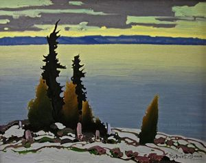 "Robert Genn - Still Classic (cca. 1989). Oil on canvas (16.0"" x 20.0"")"