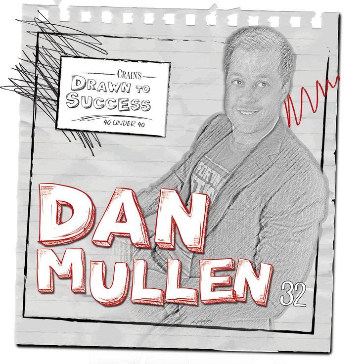 Dan Mullen, 32 • Vice president of development, Bedrock Real Estate Services LLC, Detroit