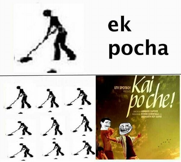 One of our fans having fun with Kai Po Che :)