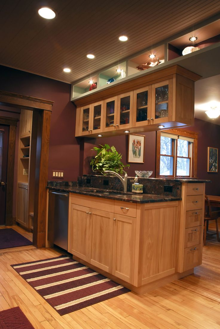 Incredible Cute Modern Kitchen Custom Cabinets Features ...