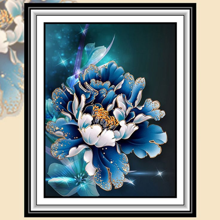 5D Diamond Mosaic Diy Diamond Painting Peony Flower Pictures 3D Diamond Embroidery Wall Sticker Home Decor Canvas Flores Gift #>=#>=#>=#>=#> Click on the pin to check out discount price, color, size, shipping, etc. Save and like it!