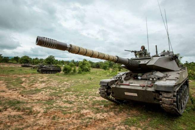 Thai Army Stingray Tank