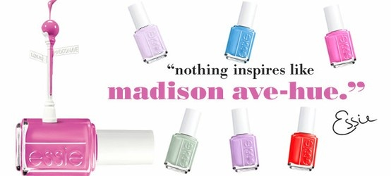 ESSIE Primavera 2013! http://shop.sereni.net/essie/smalti/madison-ave-hue-spring-collection-2013.html
