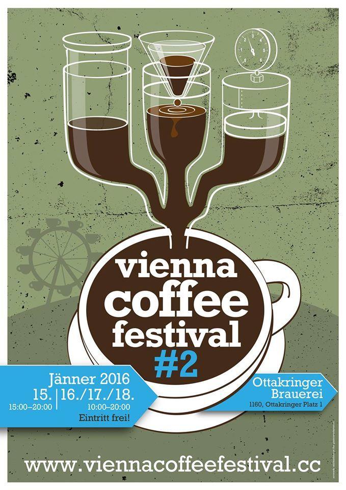 Vienna Coffee Festival #2 2016 poster