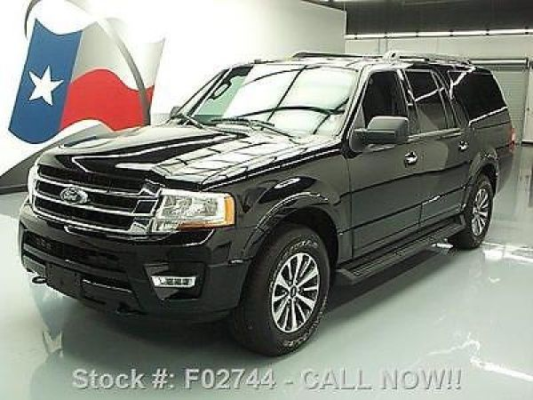 Ford: Expedition EL 4X4 ECOBOOST REAR CAM 2016 ford expedition el 4 x 4 ecoboost rear cam 19 k miles f 02744 texas direct