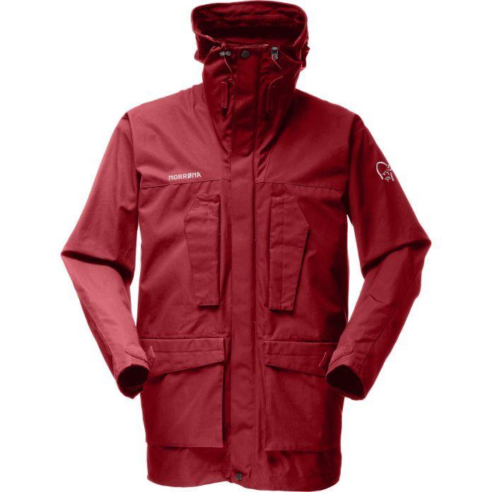svalbard arktis jakke bomull | Norrøna®