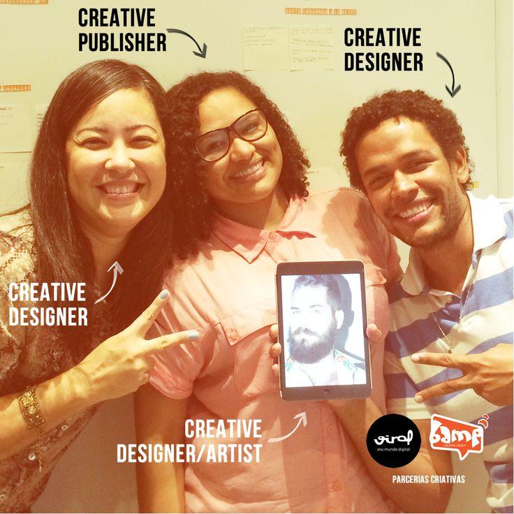Vamos dominar o mundooooo!! hehehe Parceria linda com a @ViralInteractive  #Design #Arte #Conteúdo #SocialMedia #MarketingDigital