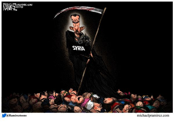 Michael Ramirez for 4/7/2017