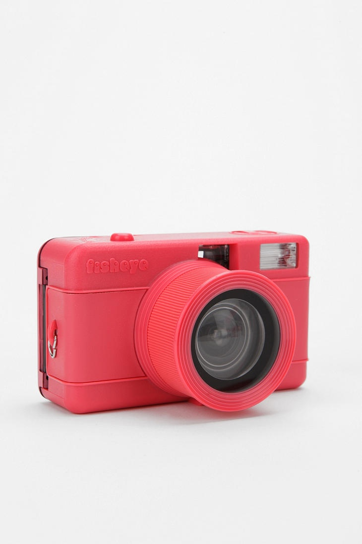 Sweet little camera from Urban- distorted circular lens, could be sweet