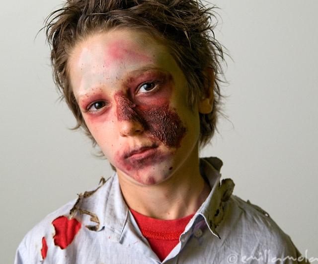 Mejores 19 im genes de ideas de disfraces para halloween - Como maquillarse de zombie ...