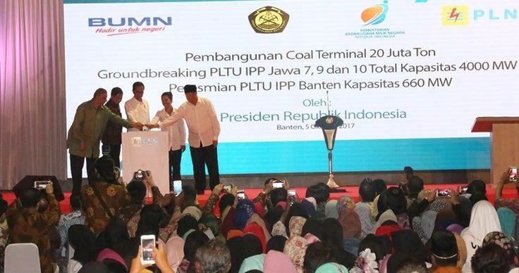 "MEDIA HUKUM INDONESIA: Presiden Tinjau ""Groundbreaking"" IPP Jawa 7, 9 dan..."