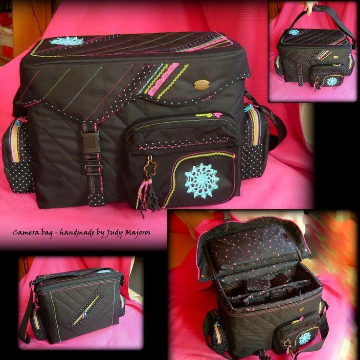 Camera bag - Handmade by Judy Majoros