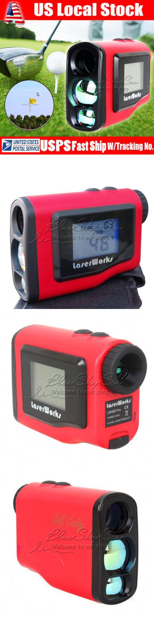 Range Finders 31712: 600 Meter Laser Golf Range Finder 6Xzoom Lcd Screen For Golf Hunting Measurement BUY IT NOW ONLY: $104.55