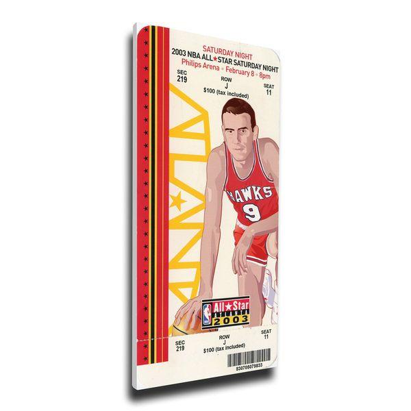 Jason Richardson Golden State Warriors 2003 NBA All-Star Game Slam Dunk Contest Mega Ticket - $79.99