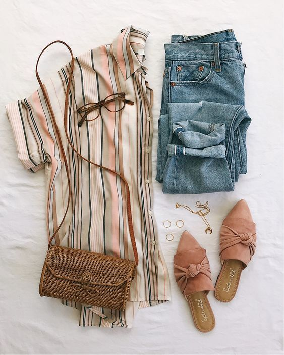 Latest 15 Incredible Amazing Spring Outfit Style To Choose 6