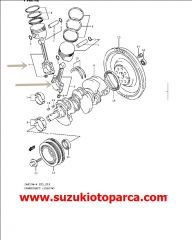 PİSTON KOLU SUZUKİ VİTARA V6 H20