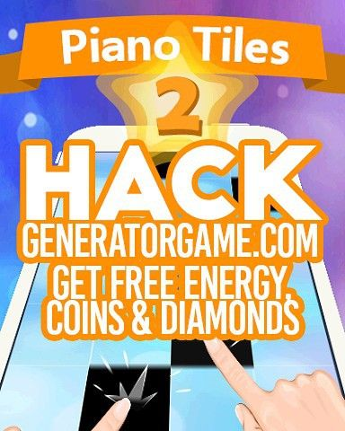 [NEW] PIANO TILES 2 HACK ONLINE 2015: www.online.generatorgame.com  Add Free up to 999999 Energy Coins and Diamonds: www.online.generatorgame.com  100% Works and Added instantly to your account: www.online.generatorgame.com  Please SHARE this real hack online guys: www.online.generatorgame.com  HOW TO USE:  1. Go to >>> www.online.generatorgame.com and choose Piano Tiles 2 image (you will be redirect to Piano Tiles 2 Generator site)  2. Enter your Piano Tiles 2 Username/ID or Email Address…