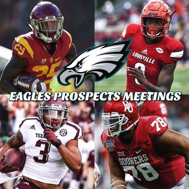 Here is a complete list of prospects the Eagles have met with: -  East-West Shrine Game: S Damon Webb Ohio State DT Folorunsi Fatukasi UConn LB Chris Worley Ohio State CB Avonte Maddox Pitt LB Kenny Young UCLA OG Dejon Allen Hawaii C Brian Allen Michigan State TE David Wells San Diego State DT PJ Hall Sam Houston State DE Marcus Martin Slippery Rock Senior Bowl: DE Da'Shawn Hand Alabama DT Andrew Brown Virginia DT BJ Hill NC State DE Tyquan Lewis Ohio State S Kyzir White West Virginia DE…