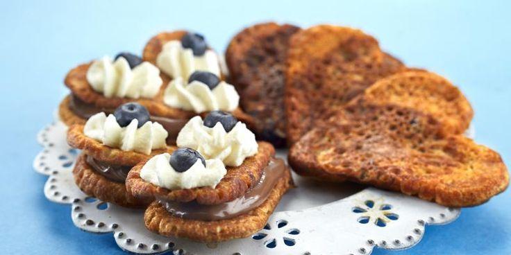 Nutella-letut | Myllyn Paras Lettuja voi tarjoilla näinkin näyttävästi