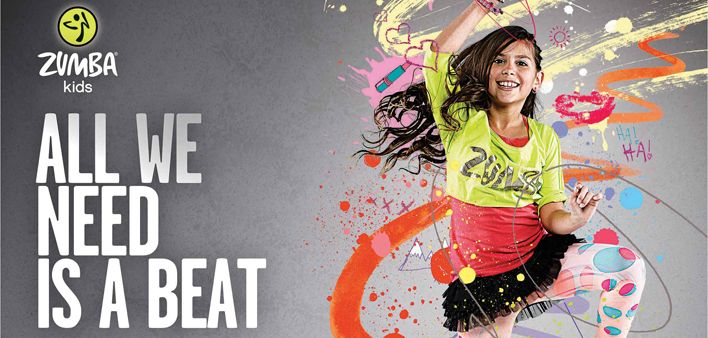 Zumba for kids Kinesis-Gym γυμναστήριο στο Κιλκίς