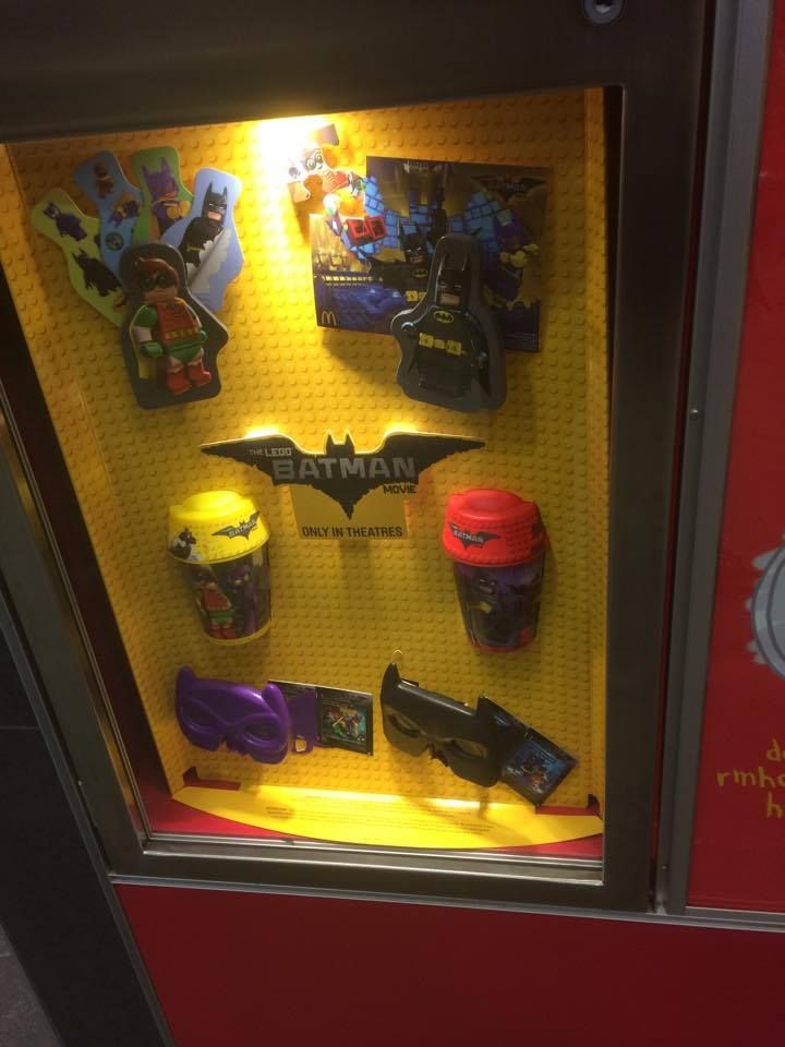 How Did McDonalds get the rights to Lego Batman but not the rights to give lego in Happy Meals? Seem's like a wasted opportunity [Canada] #McDonalds #food #fastfood #delicious #eating #happymeal