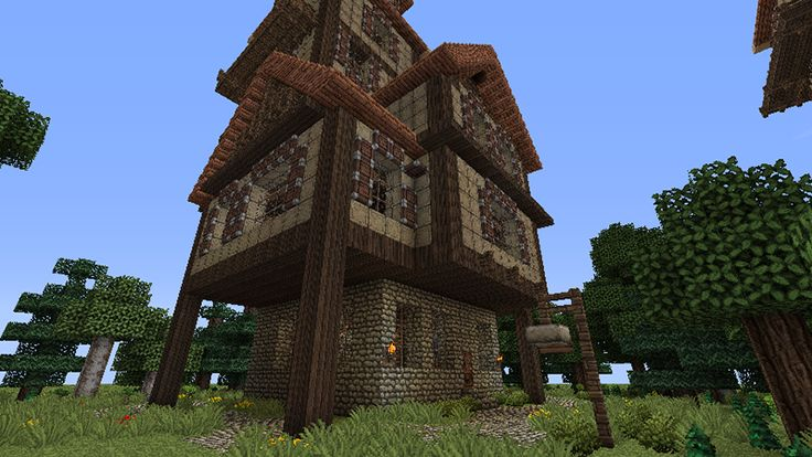 minecraft how to build a mistle