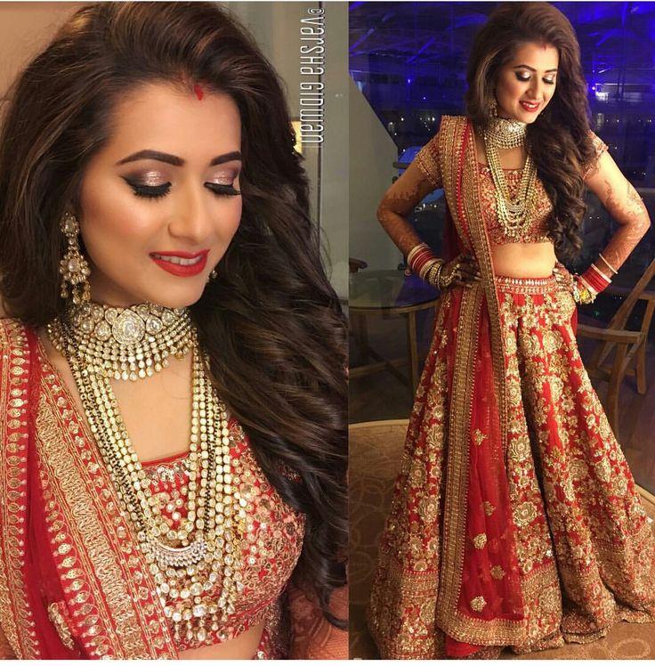 Beautiful Bride with beautiful lehenga