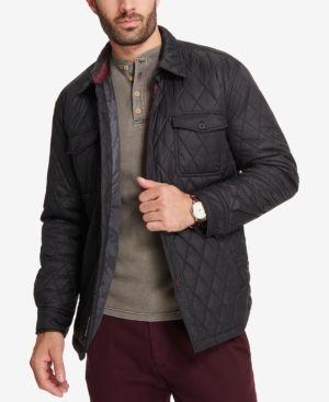 Weatherproof Vintage Men's Quilted Jacket, Created for Macy's - Black S