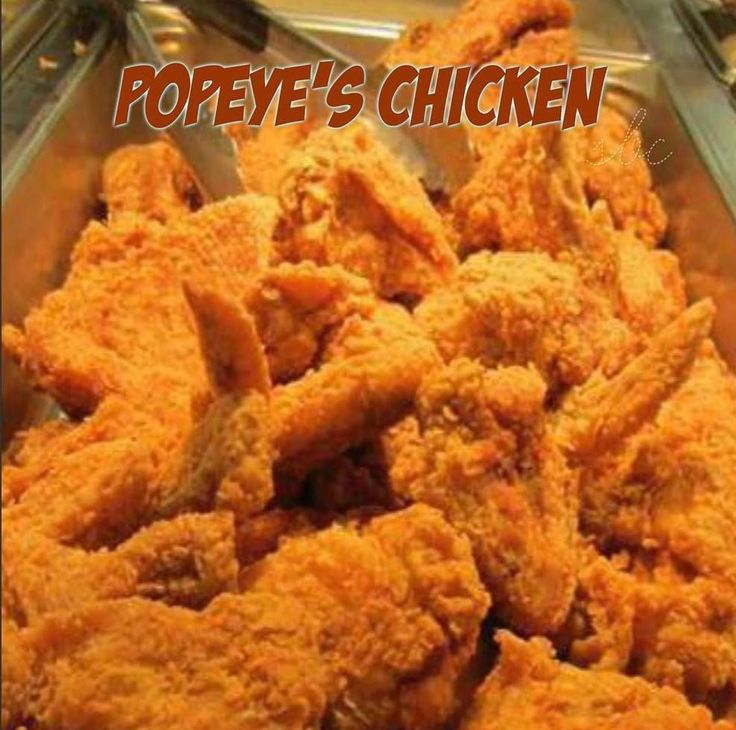 If you love Popeye's Chicken then you will love this copycat recipe you can make at home. I think it's even better then the restaurant version!