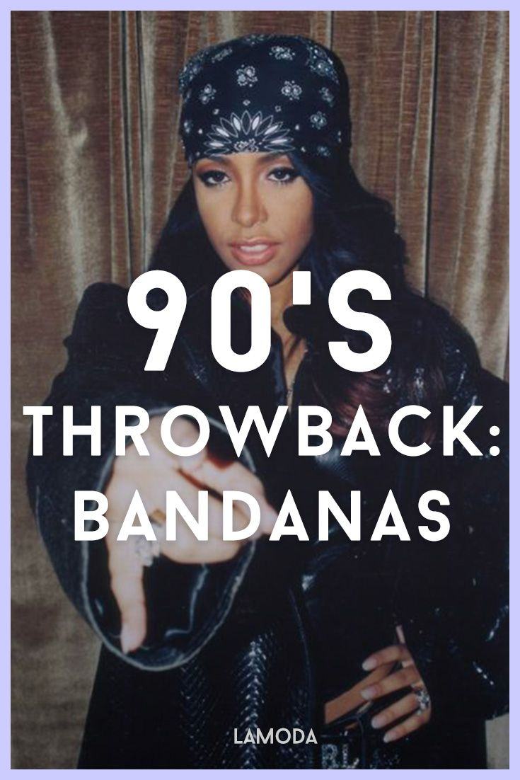 With it's origins coming from 90's hip-hop (Tupac's trademark!) and Chicano chola culture, the bandana had a another moment back in the 00's where the likes of J.LO and X-Tina (lol) sported theirs with braids.