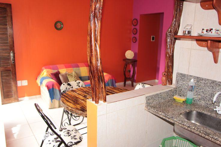 Apartamento de 1 quarto, sala e cozinha