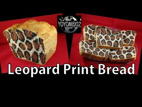 How to Make Leopard Print Bread - with yoyomax12 - YouTube