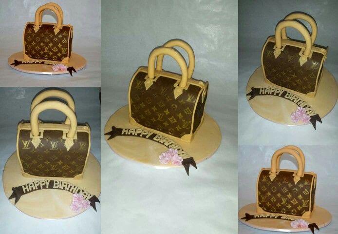 Louis Vuitton Cake ... 3 D Torte