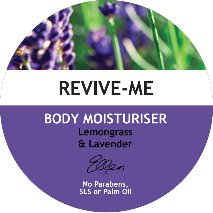 One of our wonderful new body moisturisers