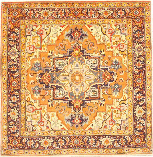 heriz persian rugs are large thick heavy tribal rugs wellknown for their