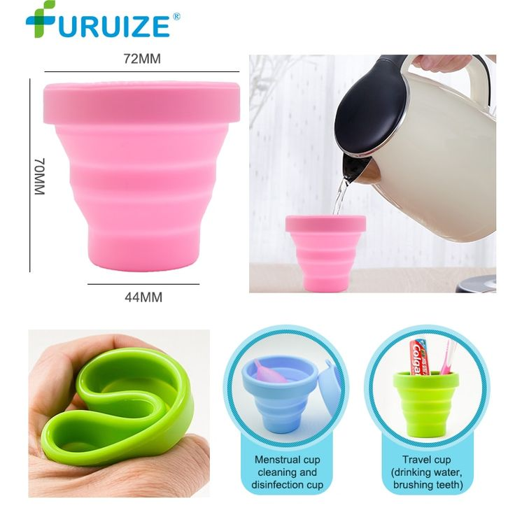 Menstrual Sterilizing Cup Collapsible Silicone Cup