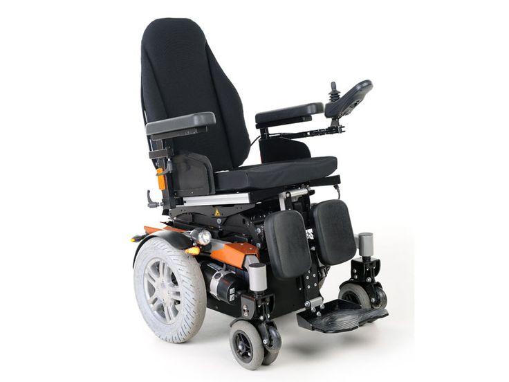 De Twist T4 2x2 is een tweewiel aangedreven elektrische rolstoel. Door de compacte omvang is de T4 zeer wendbaar.